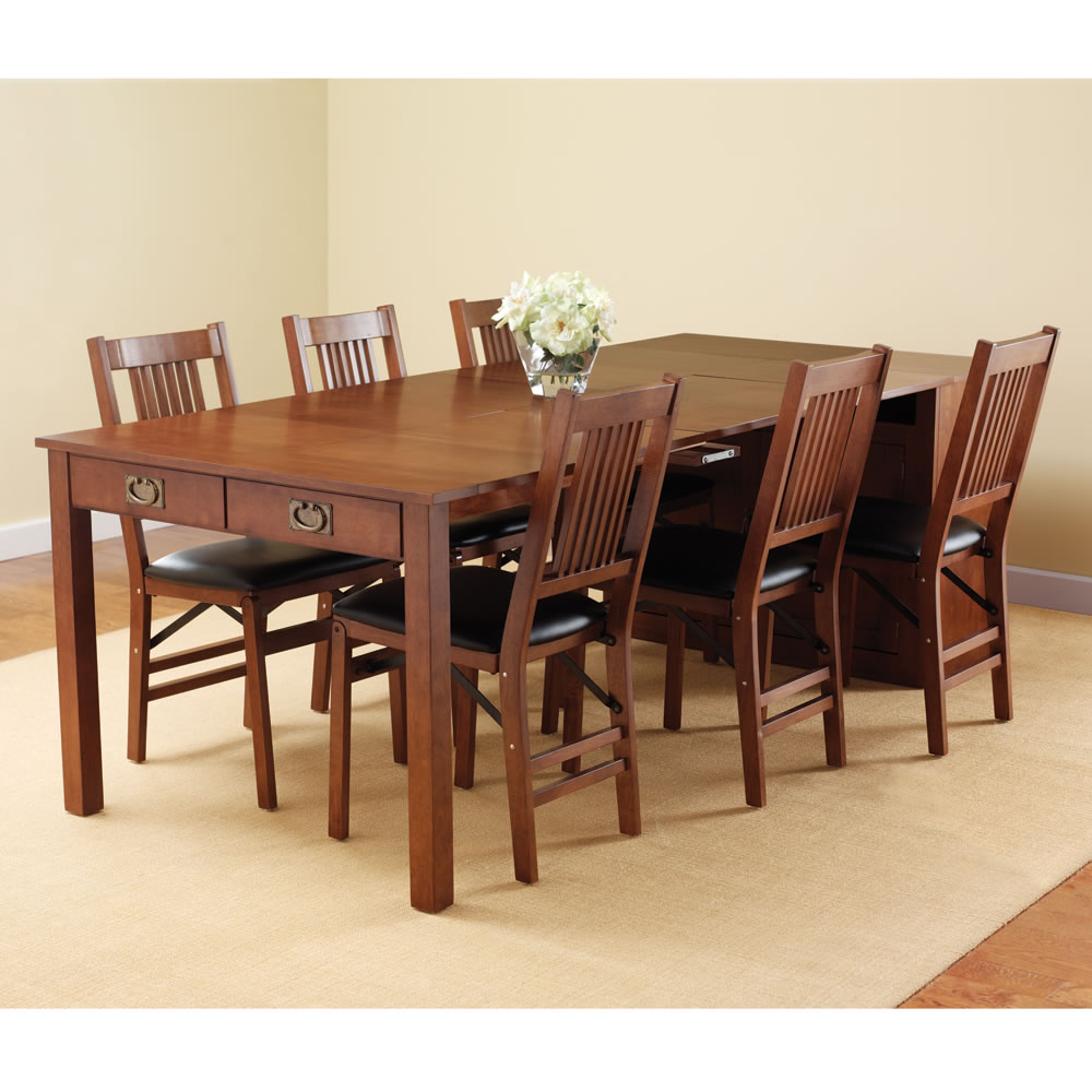 The Expanding Dining Table Hutch Hammacher Schlemmer : 126091000x1000 from www.hammacher.com size 1000 x 1000 jpeg 120kB
