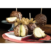 The Colossal Gourment Caramel Apples.