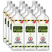 Twelve 1-Qt. Fuel Bottles For The Tabletop Fireplace