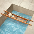 The Genuine Teak Tub Caddy