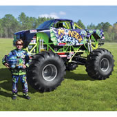 The Mini Monster Truck.