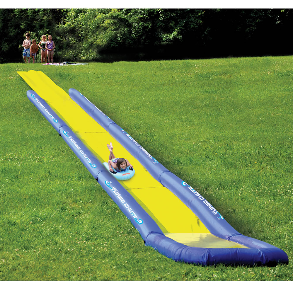 how to build a water slide in your backyard