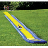 The World's Longest Backyard Water Slide.