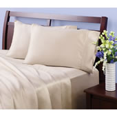 The Softest Natural Fiber Sheets (Standard Pillowcases).