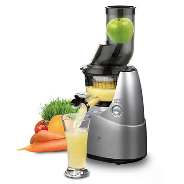 The Nutrient Preserving Juicer.