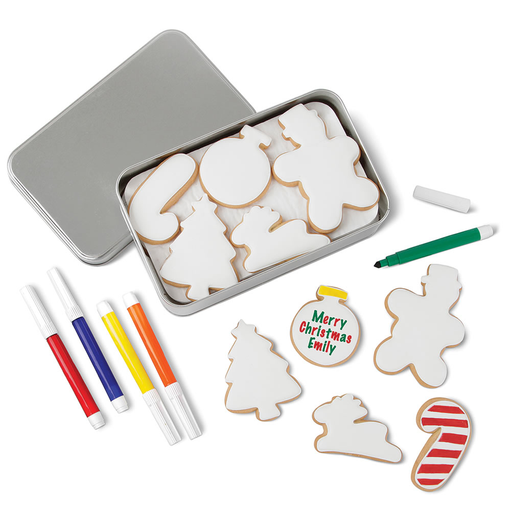 The Christmas Cookie Coloring Kit 2