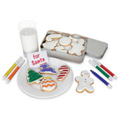 Color Me Christmas Cookies