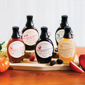 The Red Hills Small Batch Syrups.
