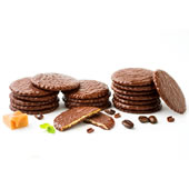 The Moravian Chocolate Covered Cookie Assortment.