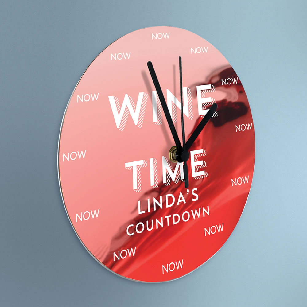 The Personalized Happy Hour Clock 1