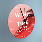 The Personalized Happy Hour Clock.
