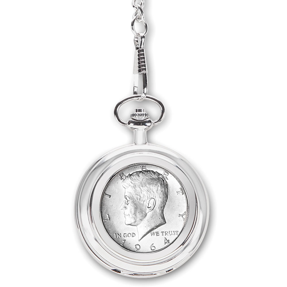 The Year Of Your Birth Half Dollar Pocket Watch5