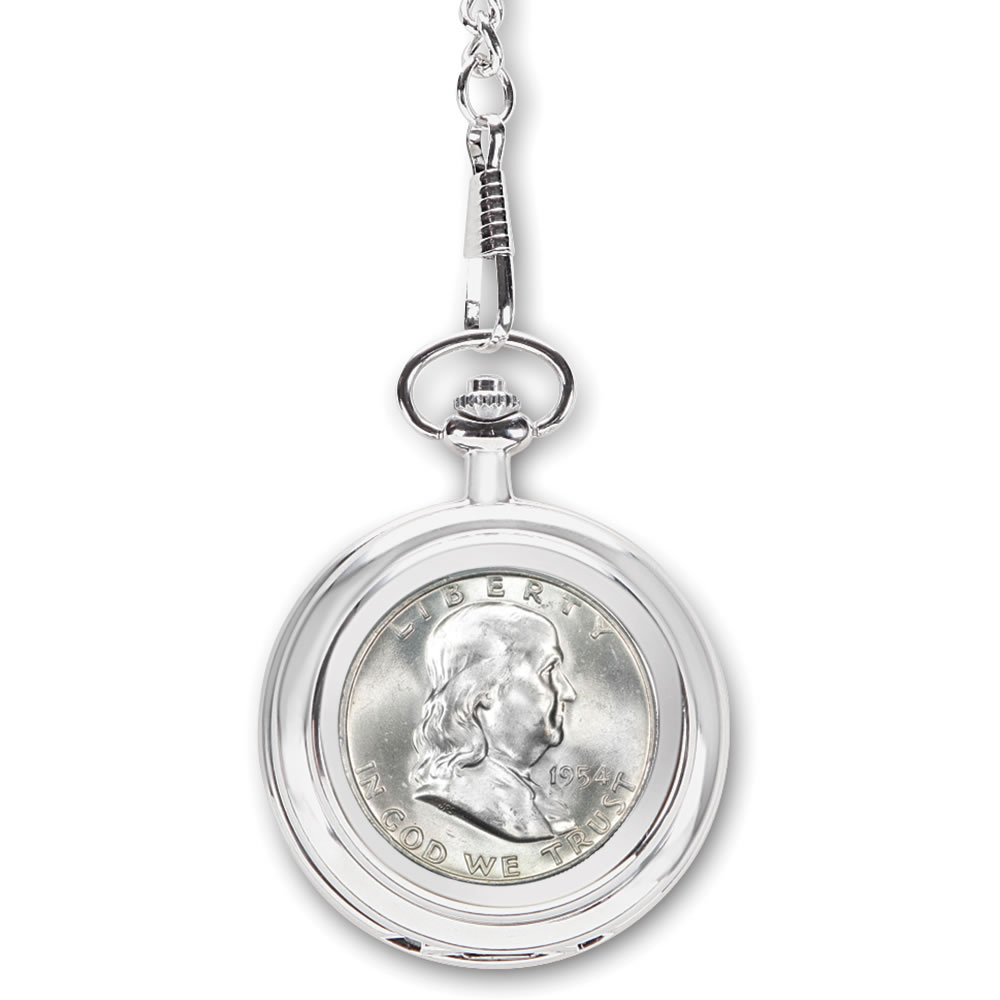 The Year Of Your Birth Half Dollar Pocket Watch4