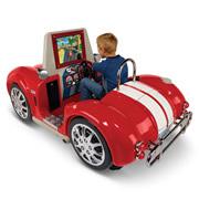 The Arcade Mini Roadster Simulator.