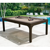 Dining Billiard Table Chocolate