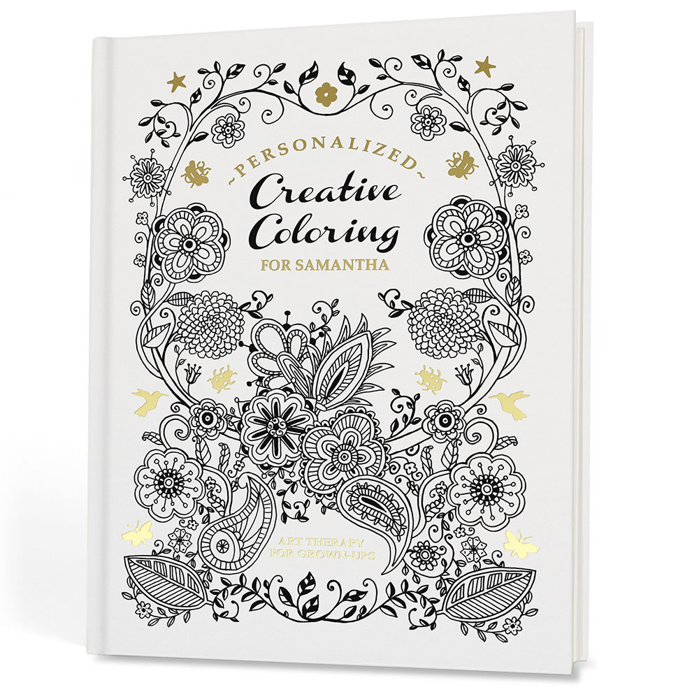 The Personalized Art Therapy Coloring Book 2