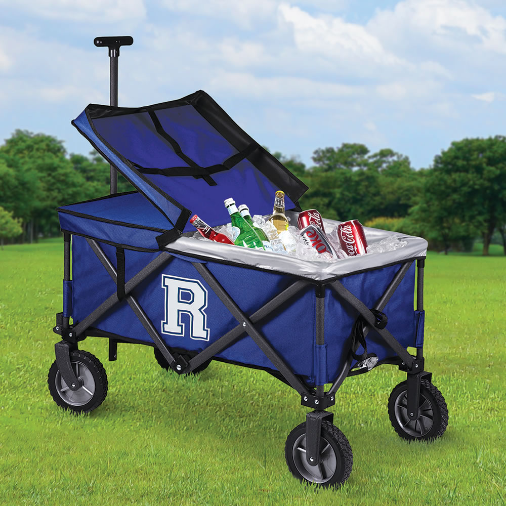 The Personalized Movable Feast Cooler Cart 1