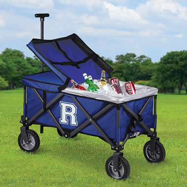 The Personalized Movable Feast Cooler Cart