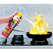 The Compact Fire Extinguisher.