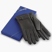 The Monogrammed Lambskin Gloves (Women?s).