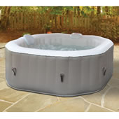 Only 3 Min Inflatable Heated Whrlpl Spa