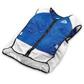 Dual System Cooling Vest Blue 3Xlarge