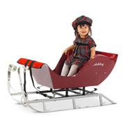 The Child's Personalized Luxury Sleigh.