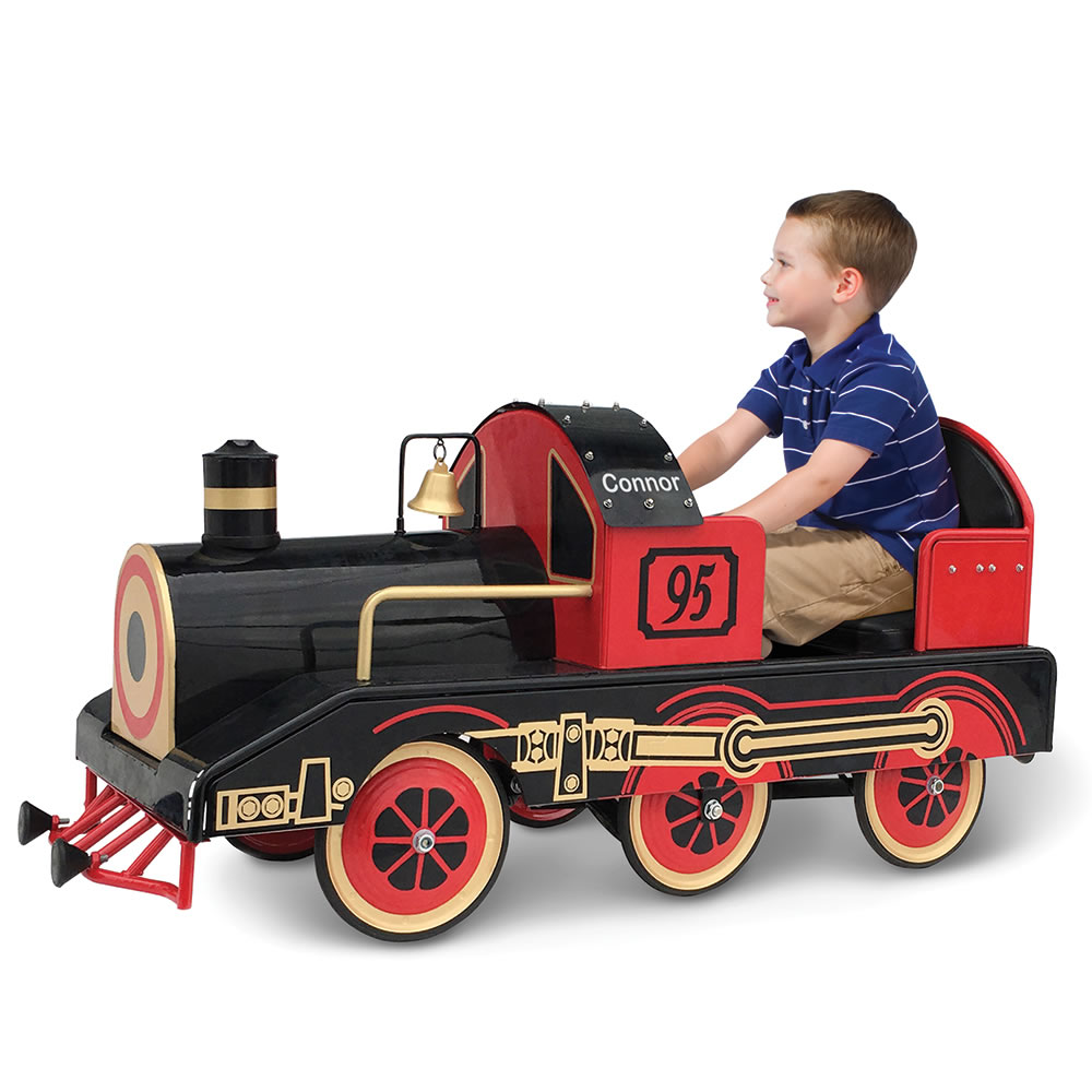The Personalized Golden Era Pedalled Locomotive 2