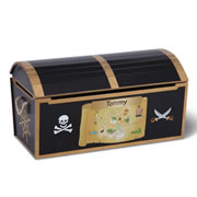 The Personalized Pirate's Treasure Chest.