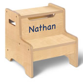 Personalized Childrens Step Stool Esp