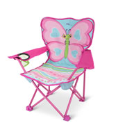 The Personalized Butterfly Camp Chair.