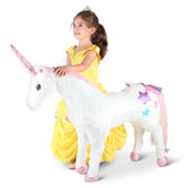 Childrens Personalized Jumbo Unicorn