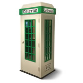 Hand Crafted Irish Telefon Box