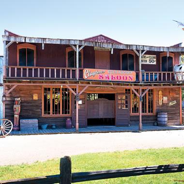 The 23 Acre Wild West Town Amusement Park.