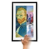 Customizable Digital Art Museum Blk