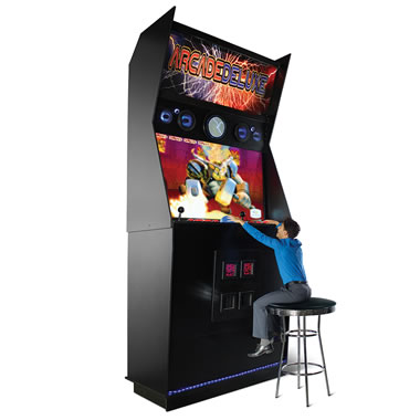 The World's Largest Arcade Machine Replica.