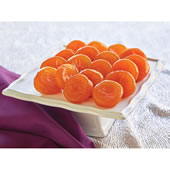 The Candied Glacé Apricots.