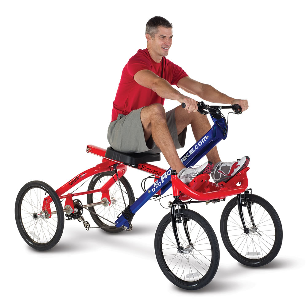 The Only Four Wheeled Rowing Cycle Hammacher Schlemmer