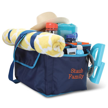 The Personalized Sand Castle Building Tote.