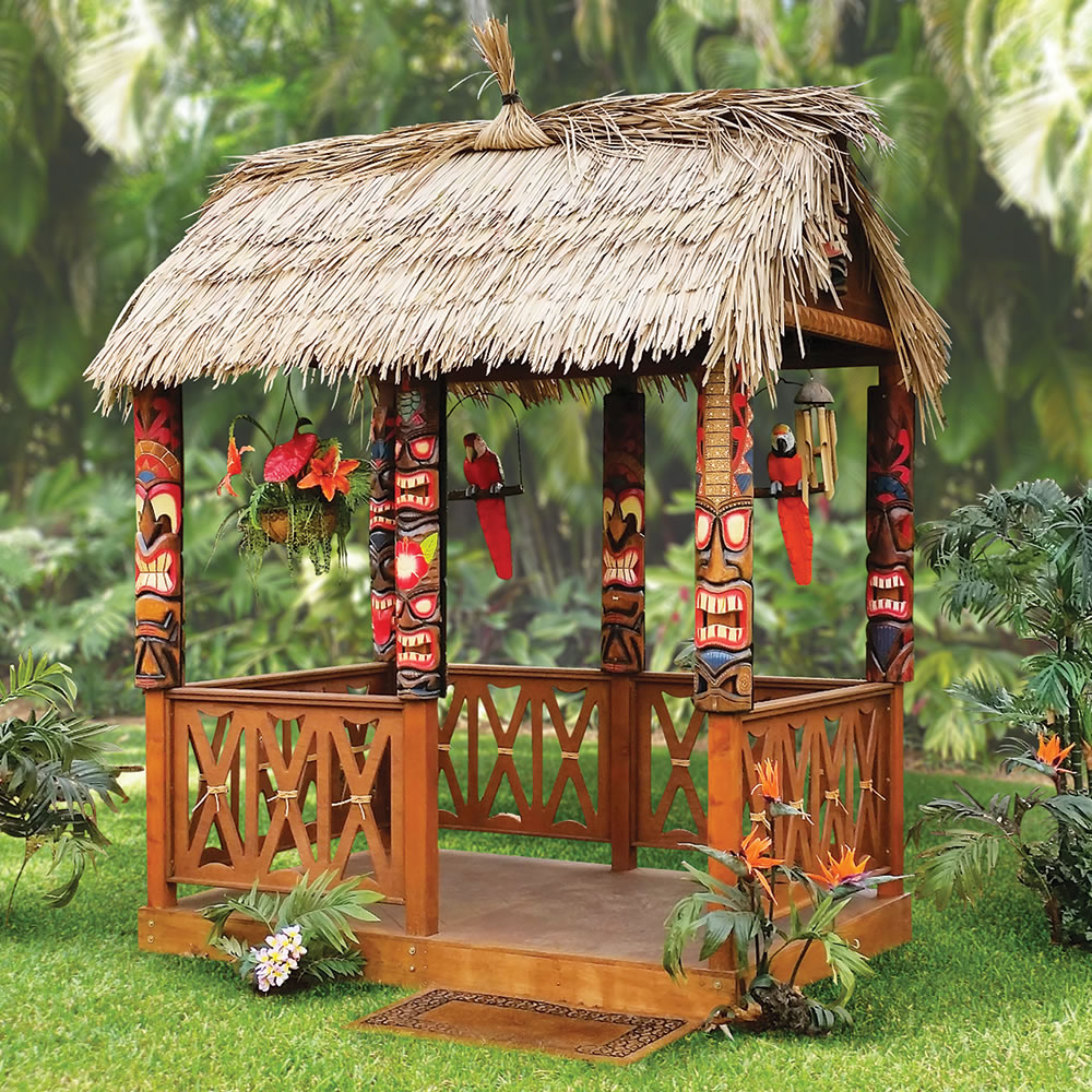 the tropical tiki hut - Tiki Hut