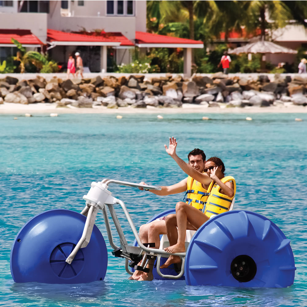 The Tropical Resort Aqua Tricycle 4