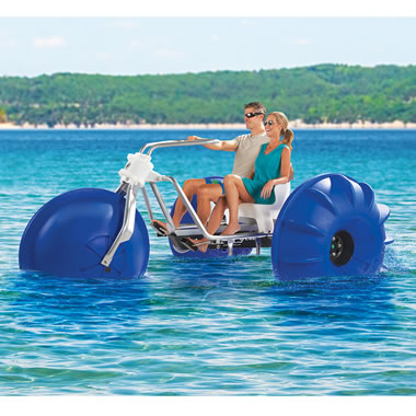 The Tropical Resort Aqua Tricycle.