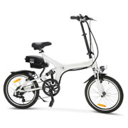 The 20 MPH Folding Electric Bicycle.