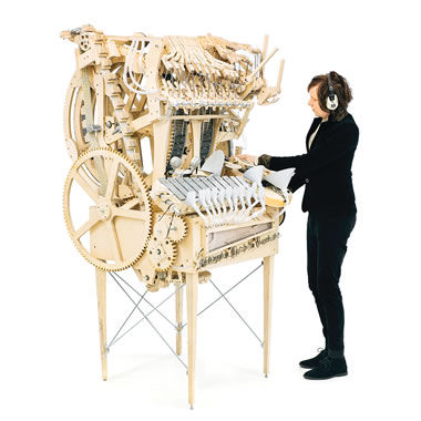 The Marble Machine Orchestra.
