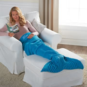 The Personalized Mermaid Blanket