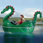 The Amusement Park Dragon Pedal Boat.