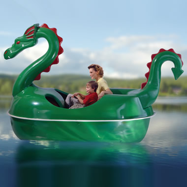 The Amusement Park Dragon Pedal Boat