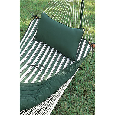 Hammock Pillow for the Pawleys Island Rope Hammock