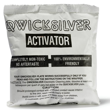 One Pound of Additional Activator for The Museum Precious Metals Cleaning Plate.