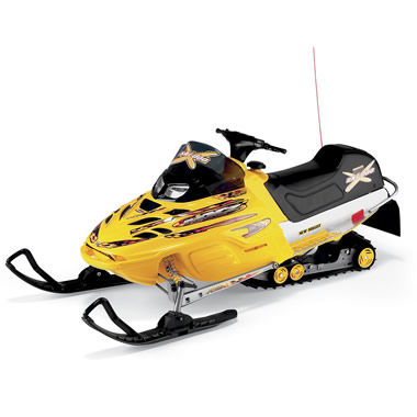 The Ski-Doo RC Snowmobile.
